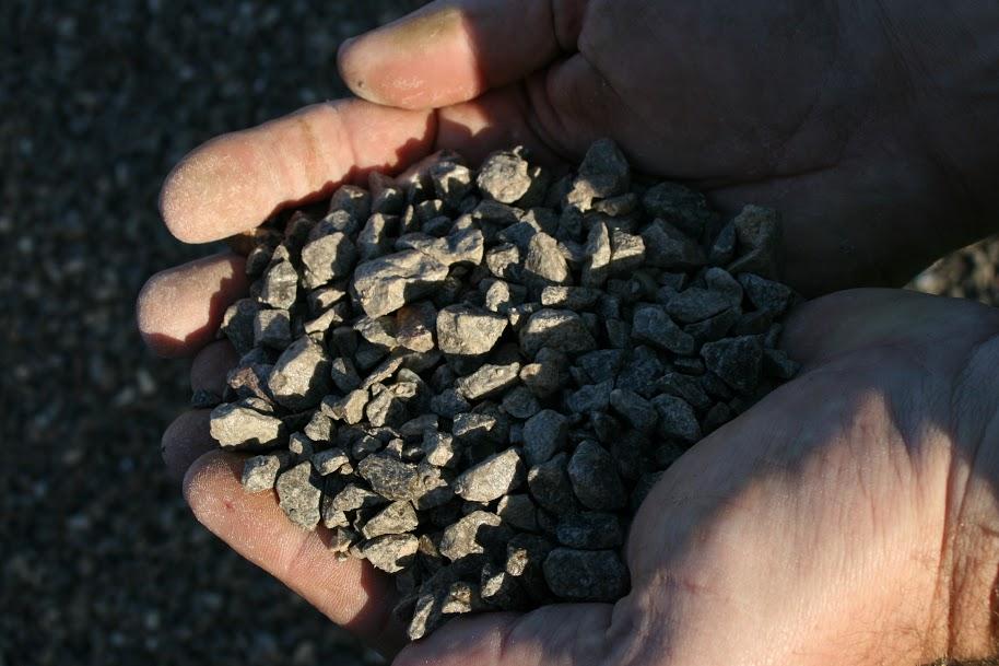 gravillon calcaire sec, gravillon sec, granulats