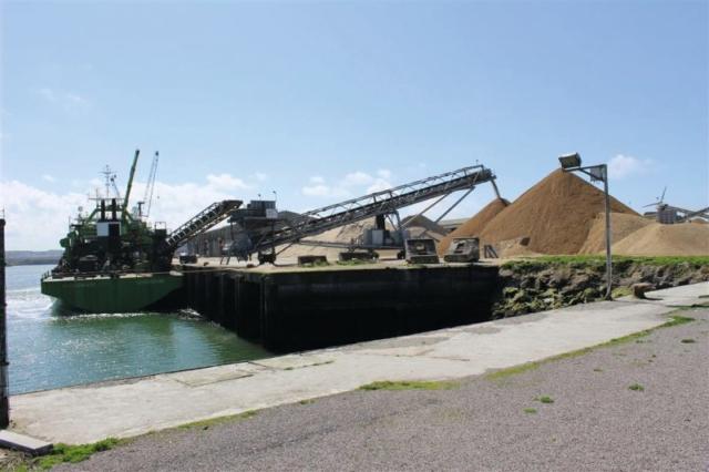 négoce, sable marins, sable , port de Boulogne, CB2M