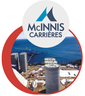 Granulats du groupe CN, Carrières MCINNIS